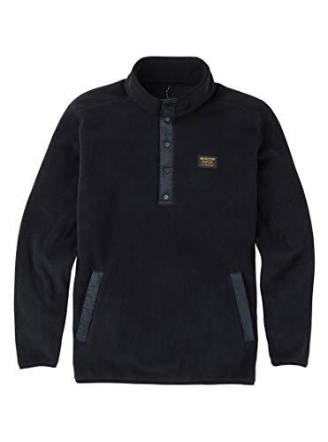 Burton Men's Hearth Fleece Pullover, True Black, Medium