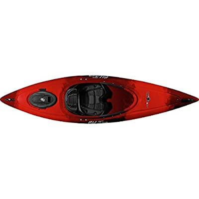 01.4047.1048 Old Town Heron 9XT Recreational Kayak (Black Cherry, 9 Feet 6 Inches) by Old Town Canoes & Kayaks