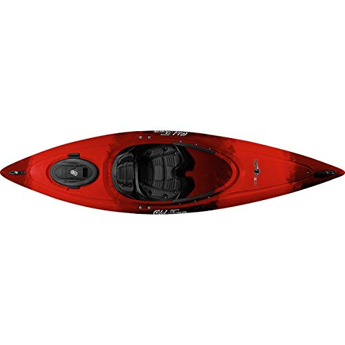 Old Town Heron 9XT Recreational Kayak (Black Cherry, 9 Feet 6 Inches)