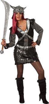 Stekarneval - Disfraz de vikingo para mujer, talla 6 (38) (477838 ...
