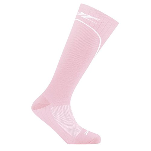 Zoot Sports Women's Performance 2.0 CRX Socks, Pink/White, - Gomez Bike Javier