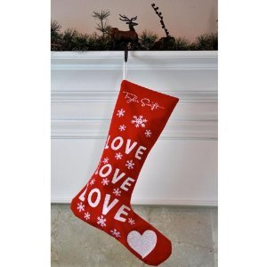 Love Love Love Christmas Stocking by Taylor Swift
