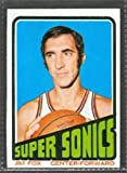 1972 Topps Regular (Basketball) Card# 34 Jim Fox of the Seattle SuperSonics VG Condition