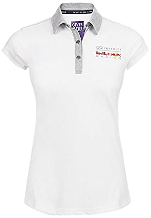 Red Bull Fan Collection Polo para Mujer, Blanco, 34 (XS): Amazon ...