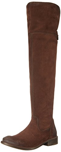 FRYE Women's Shirley Over The Knee Engineer Boot, Brown, 10 M US by FRYE