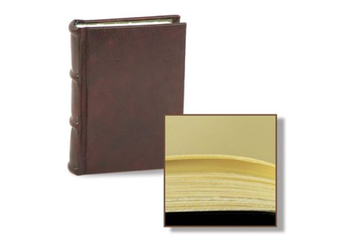 Epica 8×10 Inch Handmade Italian Leather Bound Guest Book NOW 20% off for a limited time!