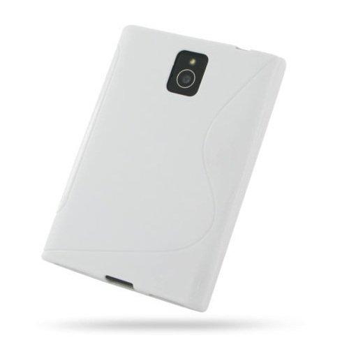 Best Shopper - S Curve Gel Cover Case for BlackBerry Passport - White