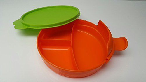 Tupperware Microwave Micro-Fix Divided Separated Feeding Dish Children's Plate Dinnerware Baby Cup With Lid Baby