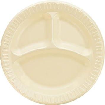 Amazon.com : DCC9CPHQ - Dart Foam Plastic Plates, 9 Inches, Honey ...