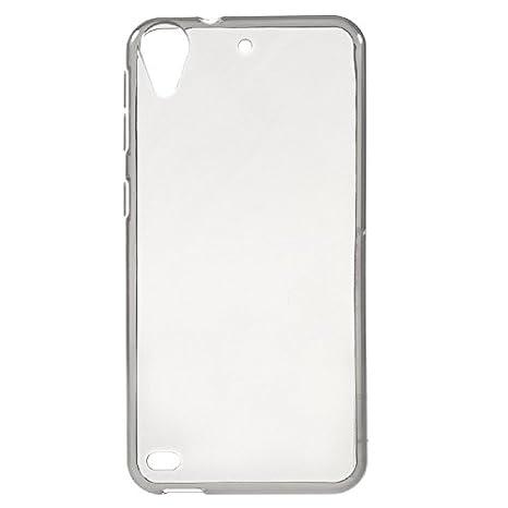 coverstop® Carcasa Brillante Blanco Funda Bumper para HTC ...