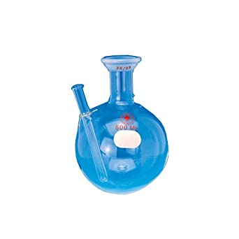 35//25 Joint 2L Capacity Round Bottom ACE Glass 6902-42 Single Neck Receiving Boiling Flask Spherical