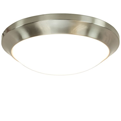 (LED Round Flush Mount Ceiling Light - 12
