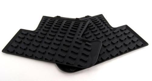 - AUDI Genuine 8U0061511A041 All-Weather Floor Mat, Rear