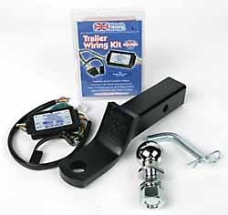 amazon com towing trailer wiring package 2 inch tow ball 2 rh amazon com 4 Prong Trailer Wiring Diagram trailer wiring harness mounting bracket