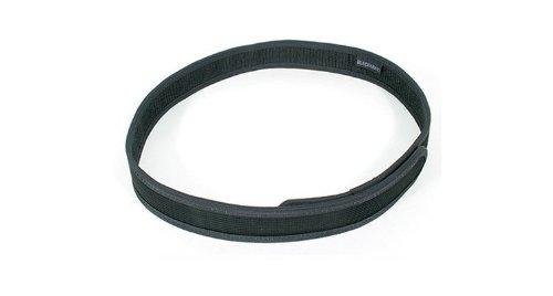 BLACKHAWK! Hook and Loop Black Trouser Belt - X-Large ()