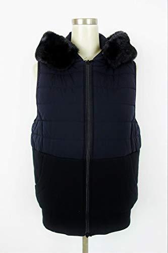 感性マンモス光DOUBLE STANDARD CLOTHING(ダブルスタンダードクロージング) ナイロンストレッチ中綿入りベスト