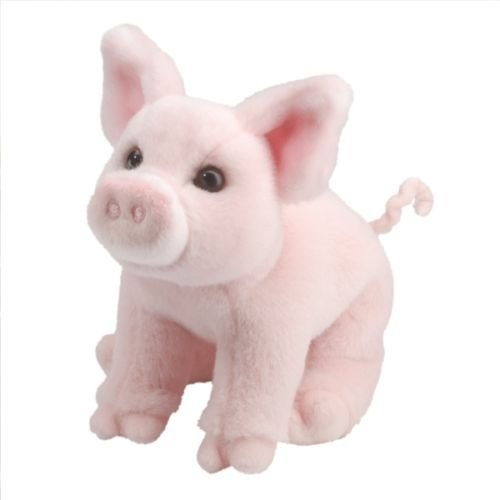 Alpha Pig Costumes (Phantomx PINK PIG Plush Piglet, Stuffed Pink Pig, Toy Pig 10