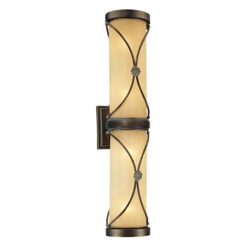 minka-lavery-4952-267b-2-light-flush-mount-in-dark-brushed-bronze-finish-with-white-fabric-shade-wit