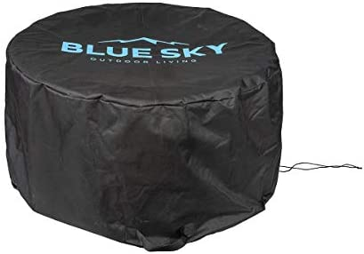 Blue Sky Outdoor Living PC2416 Cover Fire Pit, Black