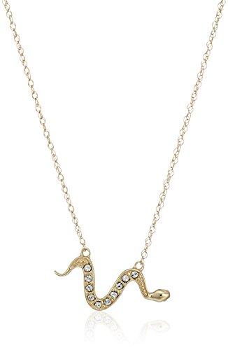 Pave Snake Necklace - 6