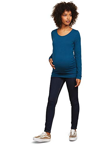 Motherhood Maternity Women's Maternity Super Stretch Secret Fit Belly Skinny Leg Denim Jean, Dark Wash, Medium