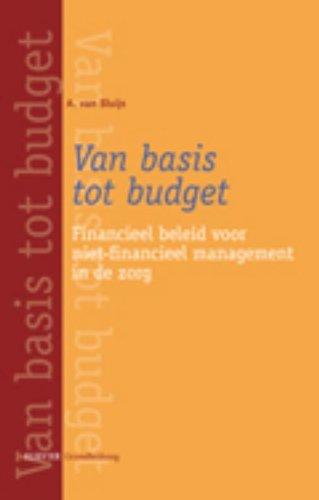 Van basis tot budget: financieel beleid voor niet-financieel management in de zorg (Dutch Edition)