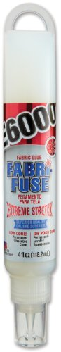 E6000 565002 Fabri-Fuse Adhesive, 4 fl oz Hang Bottle