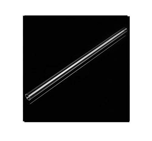 MYAMIA Tube Rond en Acrylique De 1.27 cm De Diamètre x 1.1 cm De Diamètre Intérieur Tube De 30 cm De Longueur en Plexiglas Acrylique Transparent