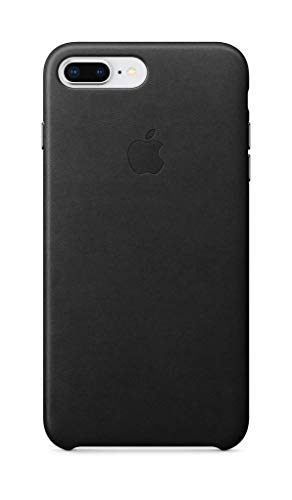 Apple Leather Case (for iPhone 8 Plus / iPhone 7 Plus) - Black