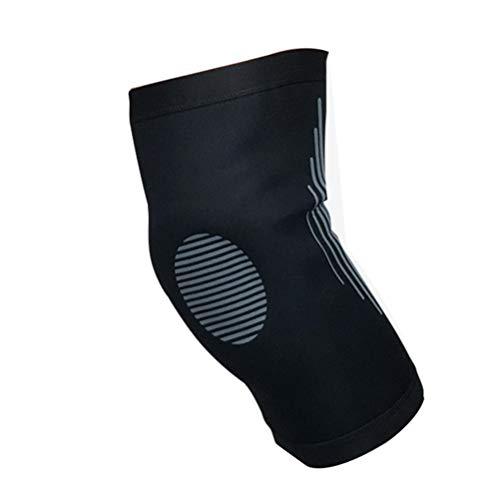 依存見つける控える膝サポート、バスケットボールサッカースポーツアンチコリジョンプレッシャーニーパッドレギンス、登山通気性と速乾性の保護装置(1個)Nayang Store