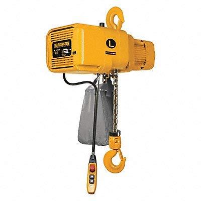 Electric Chain Hoist, 500 lb, 10 ft.
