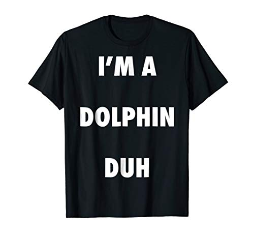 Easy Halloween Dolphin Costume Shirt for Men Women Kids