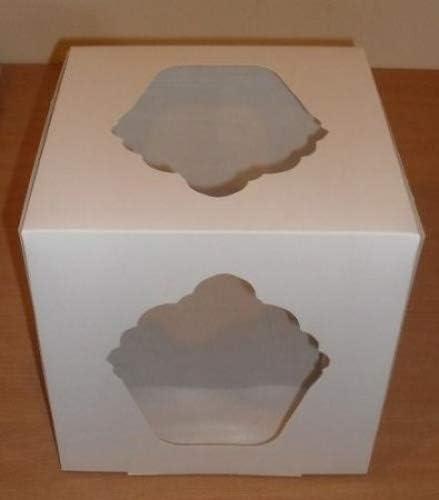 Blanco gigante caja (25,4 cm x 25,4 cm x 25,4 cm) de Tyvos: Amazon ...