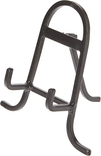 Bard's Black Wrought Iron Easel, 6