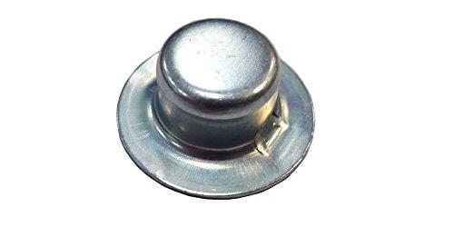 Metal Push On Cap - 5/8