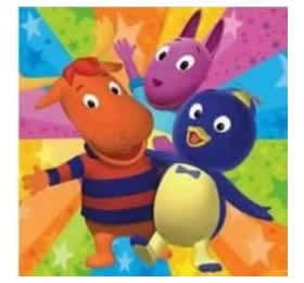 Factory Card and Party Outlet The Backyardigans Lunch