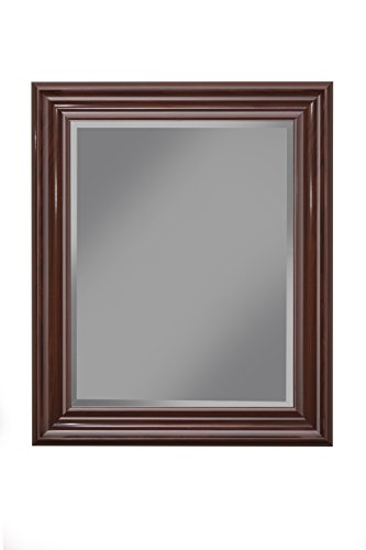 - Sandberg Furniture Cherry Wall Mirror, 36
