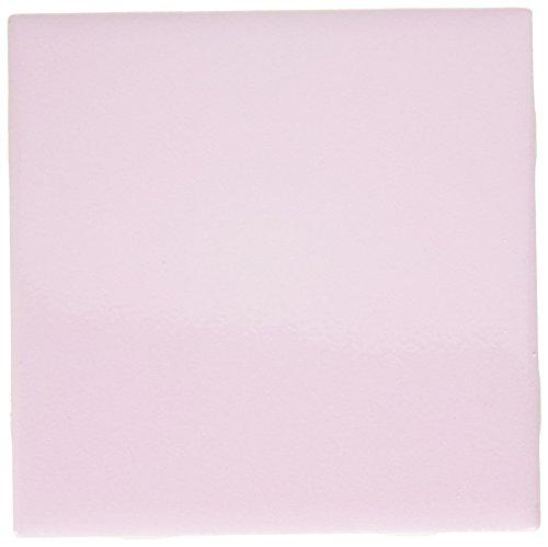 3dRose ct_30667_1 Pale Pink Ceramic Tile, 4