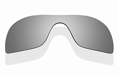 Sunnyblue2 Titanium Polarized Replacement Lenses for Oakley Batwolf - Batwolf Glasses