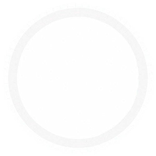 Amscan Round Frosty White Paper Dessert Plates, 20 Ct. | Party Tableware