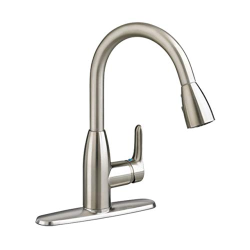American Standard 4175300F15.075 Colony Soft PULL-DOWN Kitchen Faucet with 1.5 gpm Aerator, Stainless Steel ()