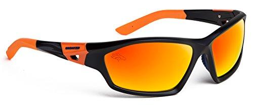 Officially Licensed NFL Sunglasses, Denver Broncos, 3D Logo on Temple - 100% UVA, UVB & UVC - Prescription Sunglasses Denver