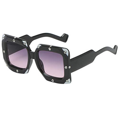 TIANMI Fashion Man Women Irregular Shape Sunglasses Glasses Vintage Retro ()
