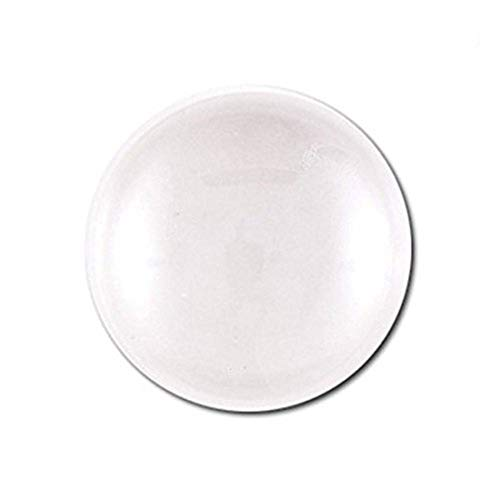 Joyingle Clear Glass Dome Tile Cabochon Clear 30mm 1.2 Inch Non-calibrated Round,30 Pieces