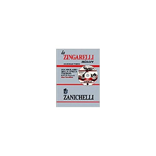Lo Zingarelli Minore: Vocabulario Della Lingua Italiana Zanichelli