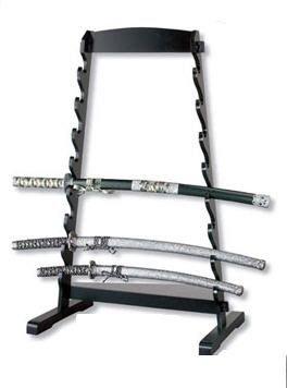 (Floor Sword Rack for 8 Pieces Sword Display Rack Sword Stand Floor Samurai Sword Stand Katana Sword Stand Sword Display Stand)