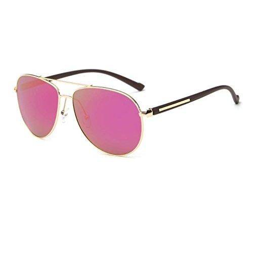 verres cadre Lunettes de Femmes polarisées Protection en Coolsir Mengonee de UV400 lunettes alliage Hommes mode 2 de soleil nzS7wFXB