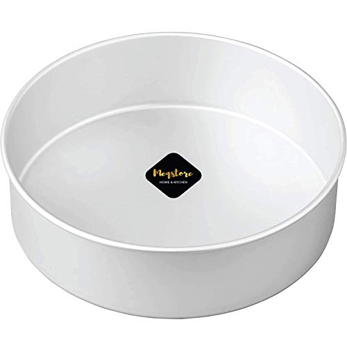 Meqstore Bakeware Aluminium Round Cake Baking Moulds | Cake Tin | Cake Pan for 1500-2000 Grams (8 Inch) for Oven Price & Reviews
