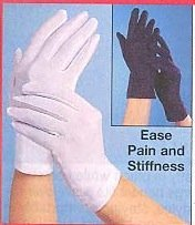 ARTHRITIS FULL HAND GLOVES - PAIR (COLOR BLACK)