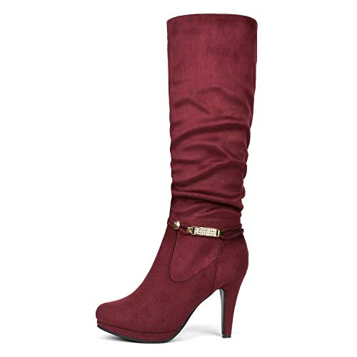 Buy knee high boots 2017